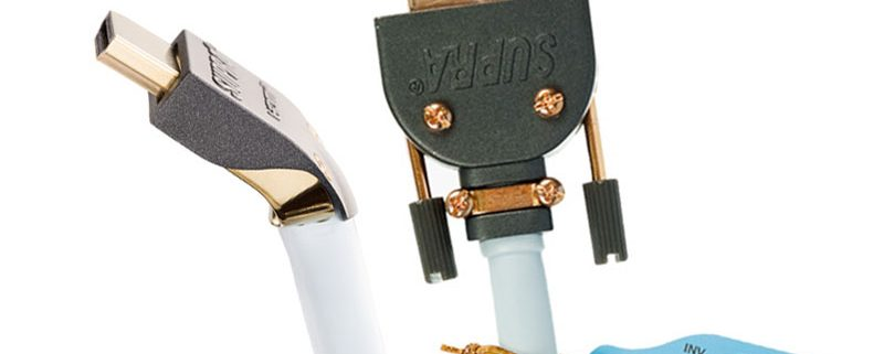 Supra Cables HDMI und DVI Kabel