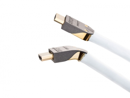 Supra Cables High Speed HDMI Kabel MET-S/B abnehmbaren Stecker